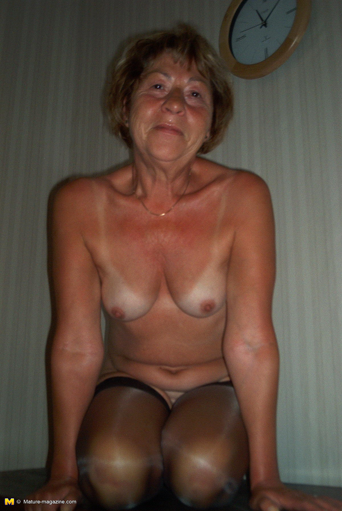 nude Older amateur