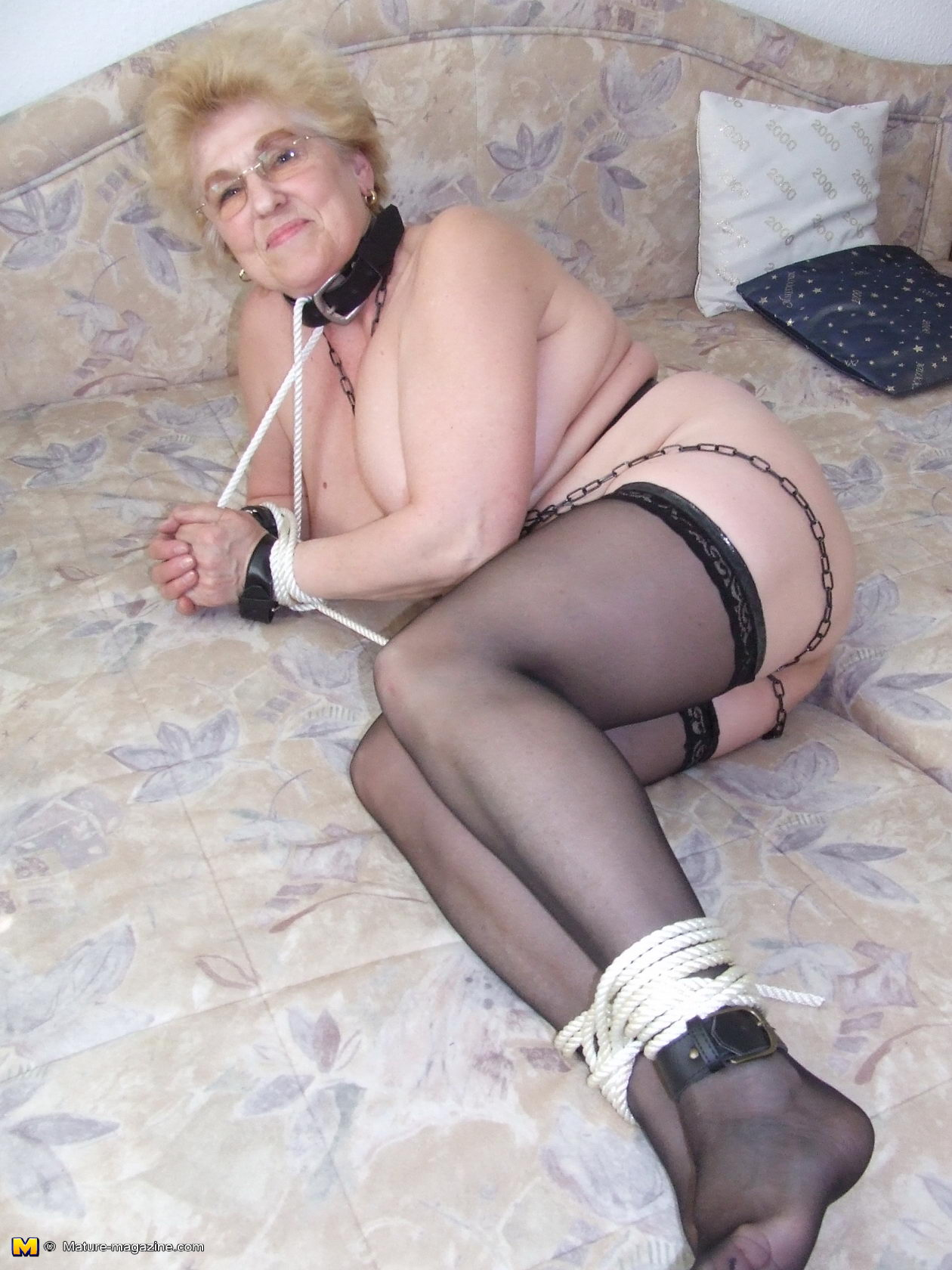 How granny bondage galleries sex good