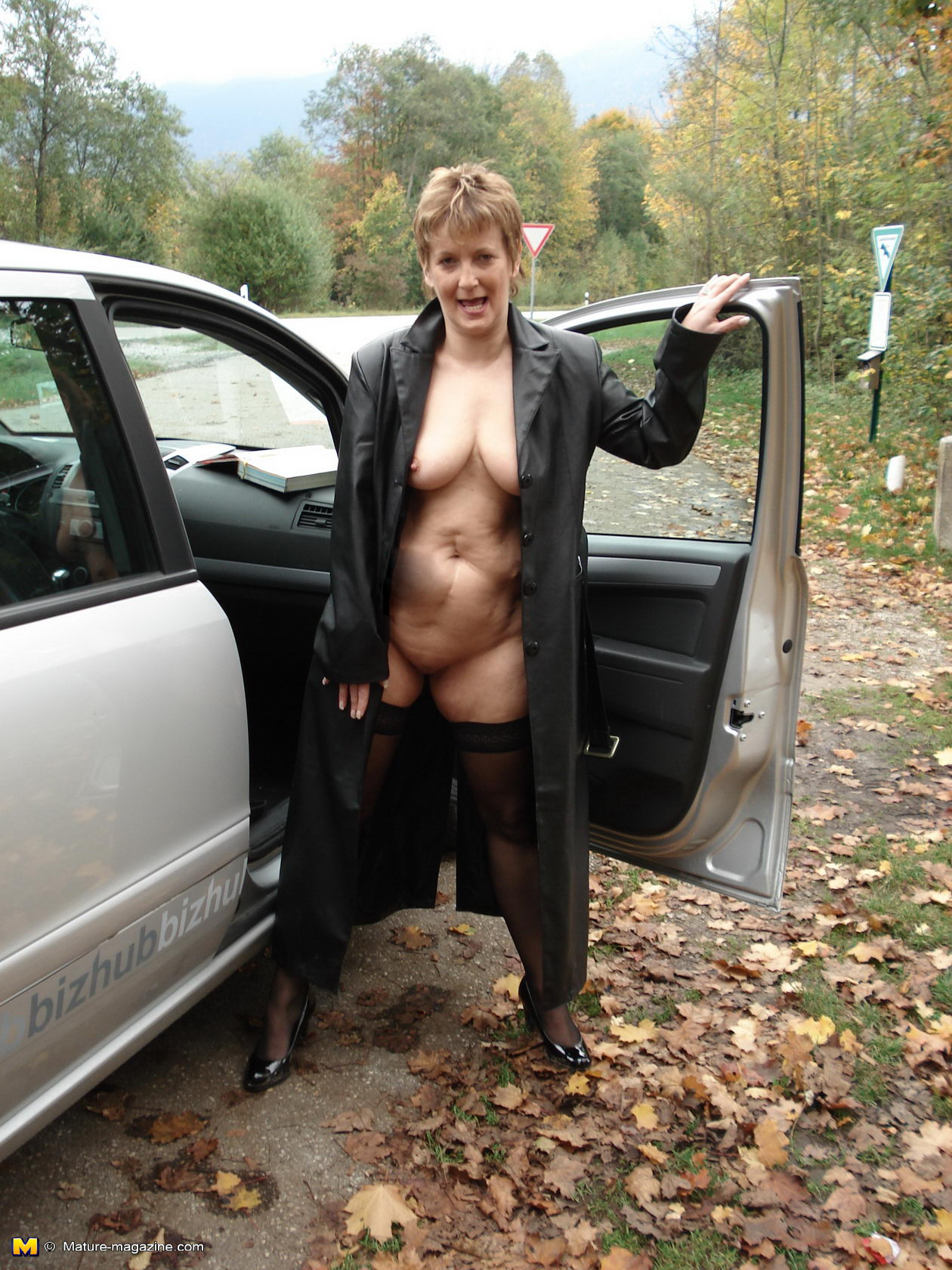 outdoors Kinky grannies