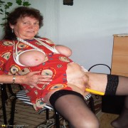 kinky housewife going at it in her livingroom