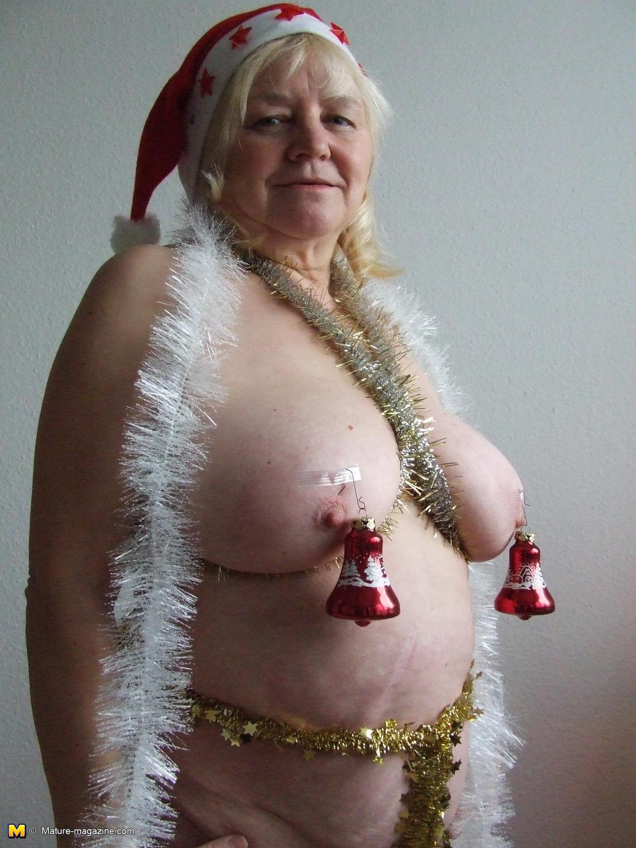Christmas mature nudes xxx image